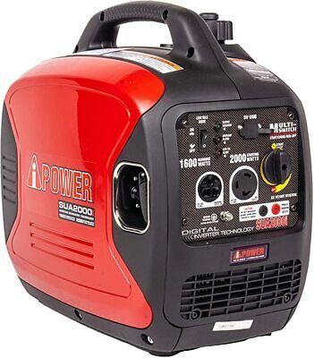 2000 Watt Invertergenerator Gas Powered Super Quiet Home Rv. Camping Emergency