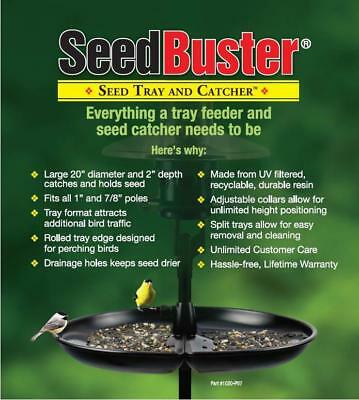 Brome Seed Buster Bird Seed Tray Feeder and Seed Catcher 1020