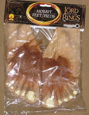 Lord of the Rings Hobbit Movie Feet Costume Halloween Frodo Bilbo Child](Kids Frodo Costume)