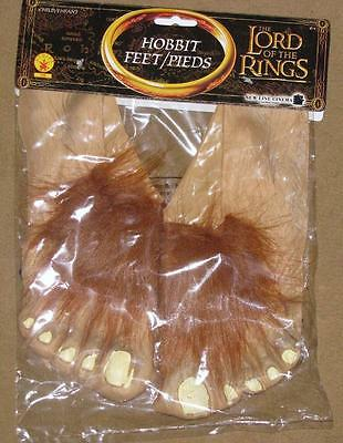 Lord of the Rings Hobbit Movie Feet Costume Halloween Frodo Bilbo - Frodo Lord Of The Rings Costume