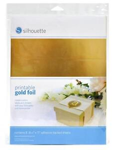 Silhouette PRINTABLE STICKER FOIL - Available in Gold & Silver