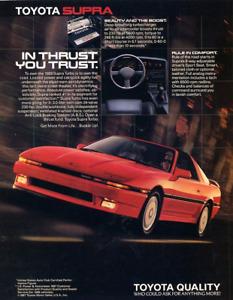 1986 Toyota Supra A70 partout
