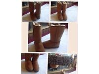 UGG BOOTS LADIES BRAND NEW IN BOX W6/uk 4.5 sizes £45