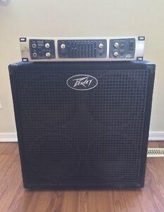 $500 Peavey Bass Guitar Amp Head & Cab