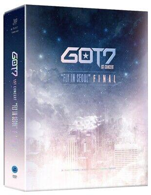 "GOT7 1ST CONCERT ""FLY IN SEOUL"" FINAL DVD 3DISC+Photo Book+Poster+7p Card+B.Mark"
