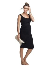 Isabella Oliver Maternity dress - Ellis Black