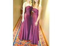 2 bridesmaid dresses approx size 8. Will sell separately.
