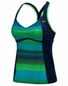 BNWT Nike Optic Shift Racerback Tankini - Size M