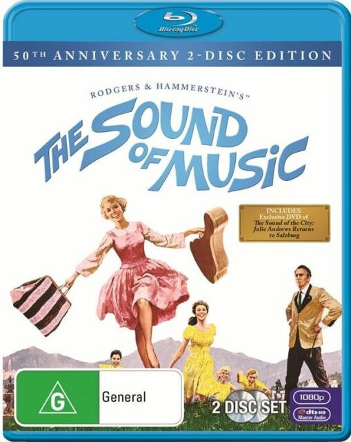 The Sound of Music (50th Anniversary Edition) : NEW Blu-Ray