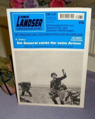 Der Landser Grossband - Ein General stirbt für seine Armee  / Nr. 970
