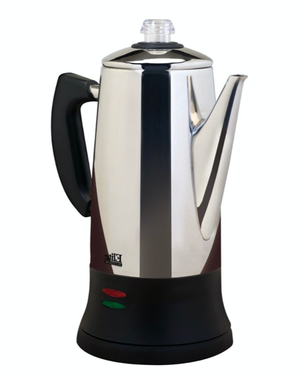 New 12 Cup Coffee Maker Percolator Stainless Steel Electric