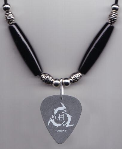 AFI Hunter Burgan Signature Black Guitar Pick Necklace - 2006 Tour