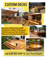 Custom Decks! Deck builder for Hamilton Brantford and areas!