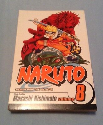 Naruto Lot of 5 Graphic Novels Shonen Jump Viz Media Volumes 8, 10-12, 16 for sale  Shipping to Canada