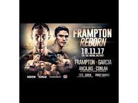 2 X Frampton Reborn tickets Face Value