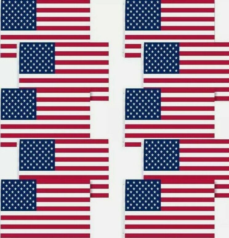 American Flags LOT OF TEN • 10X US3