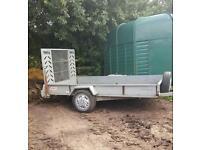 Car trailer galvanised, ramp 10 x 9 ft!