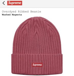 Supreme Overdyed beanie SS18