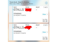 TRAVIS SCOTT LONDON STANDING TICKETS