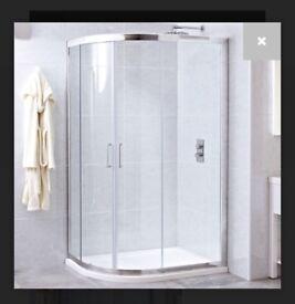Shower screen enclosure RRP£550