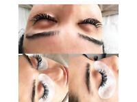Semi permanent individual lashes