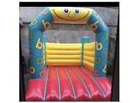 Bouncy castle popcorn & candy floss machine Dj hire in London v