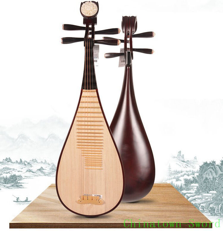 Xinghai Chinese Soprano Pipa Lute Guitar Children LiuQin Musical Instrument#4127