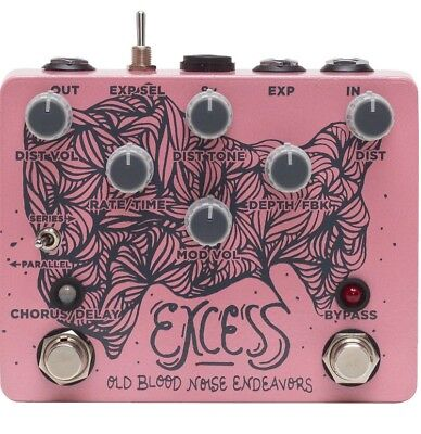 Old Blood Noise Endeavors   Excess Distortion Chorus Delay Pedal