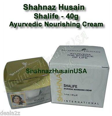 40g Shahnaz Husain  Shalife Ayurvedic Nourishing Cream Facial Massage USA -