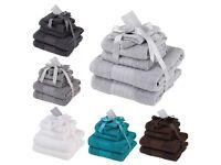 NEW 100% Cotton 6 Piece towel sets