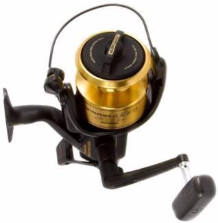 fishing reel Shimano Baitrunner 6500B new