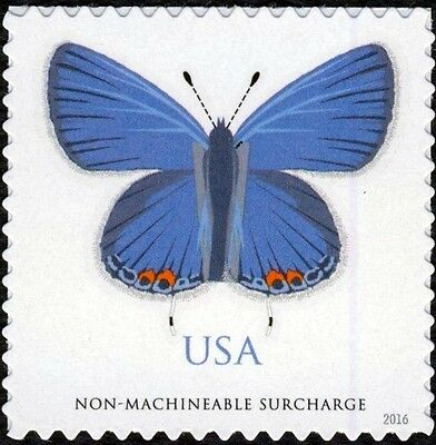 2016 68C EASTERN TAILED-BLUE BUTTERFLY NON-MACHINEABLE SCOTT 5136 MINT F/VF NH