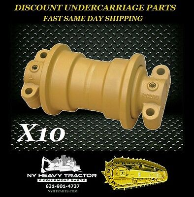 John Deere 450c Single Flange Roller X10 Replacement Dozer Track Lower Bottom