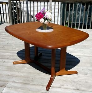 Teak MCM Dining Table by Nordic Furniture