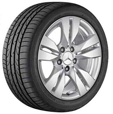 Mercedes-Benz Alufelge A2044017602 5 Doppel Speichen Rad titansilber 7,5JX17