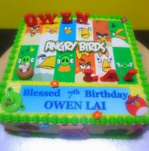 Edible personalized / custom icing images for cakes / cupcakes