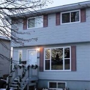 3 Bedroom duplex east Saint John avail June 1st