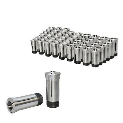 18 - 1 5c Round Collet Set By 16ths Harden Machinist Tool 0006 Tir 15 Pc