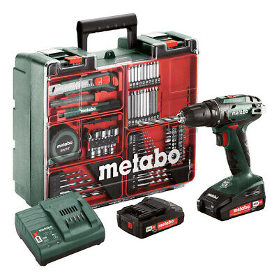 Metabo BS 18 Mobile Werkstatt mit 2 Akkus 2,0Ah - 602207880