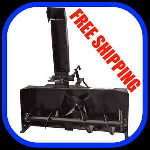 "NEW 3 point hitch SNOW BLOWERS, 50"" - 80"" sizes FREE SHIPPING"