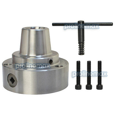 5c 5 Collet Chuck Plain Back Mounting Lathe Cnc .0006 D1