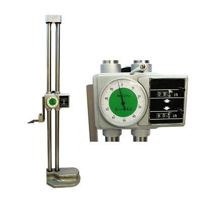 Digital 24 Dual Beam Height Gage Gauge Carbide001 Measurement Gage System