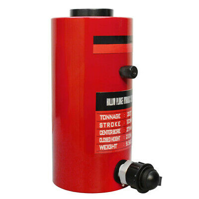 Hollow Plunger 30 Ton Hydraulic Cylinder Jack Ram Lifting 1.96 50mm Stroke