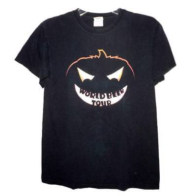 HALLOWEEN T Shirt S Black WORLD BEER TOUR Funny Drinking Party PUMPKIN Chicago (Party Chicago Halloween)
