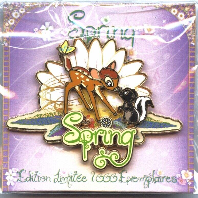 Disneyland Paris - Pin Trading Day 2014 (Spring) - Bambi & Flower Pin