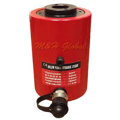 30 Ton 2 50mm Stroke Hydraulic Hollow Plunger Cylinder