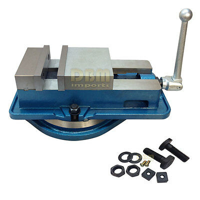 6 Accu Lock Vise Precision Milling Drilling Machine Bench Clamp W Swivel Base