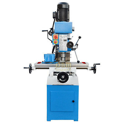 31 X 9.4 Milling And Drilling Machine Zx Rotary Head 45 Gear Drive Metal