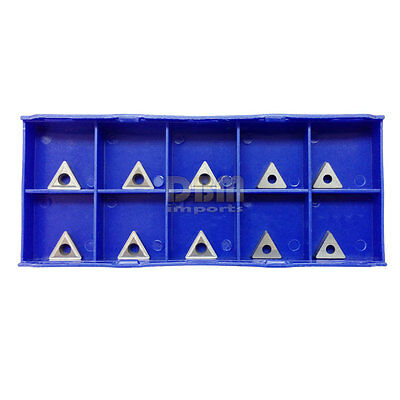 10 Piece Pc 14 C6 Carbide Inserts For Indexable Turning Tool Holder Lathe