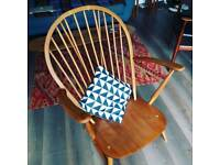 Ercol grandfather easy chair